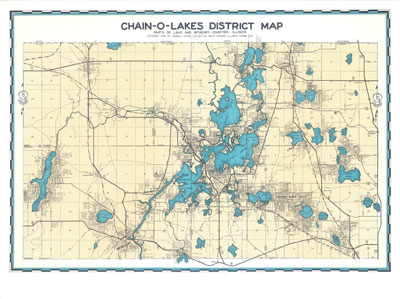 chain o lakes Location: the fox chain o' lakes is located 50 miles northwest of chicago off illinois route 173 and us route 12 near the cities of antioch, fox lake, and mchenry.
